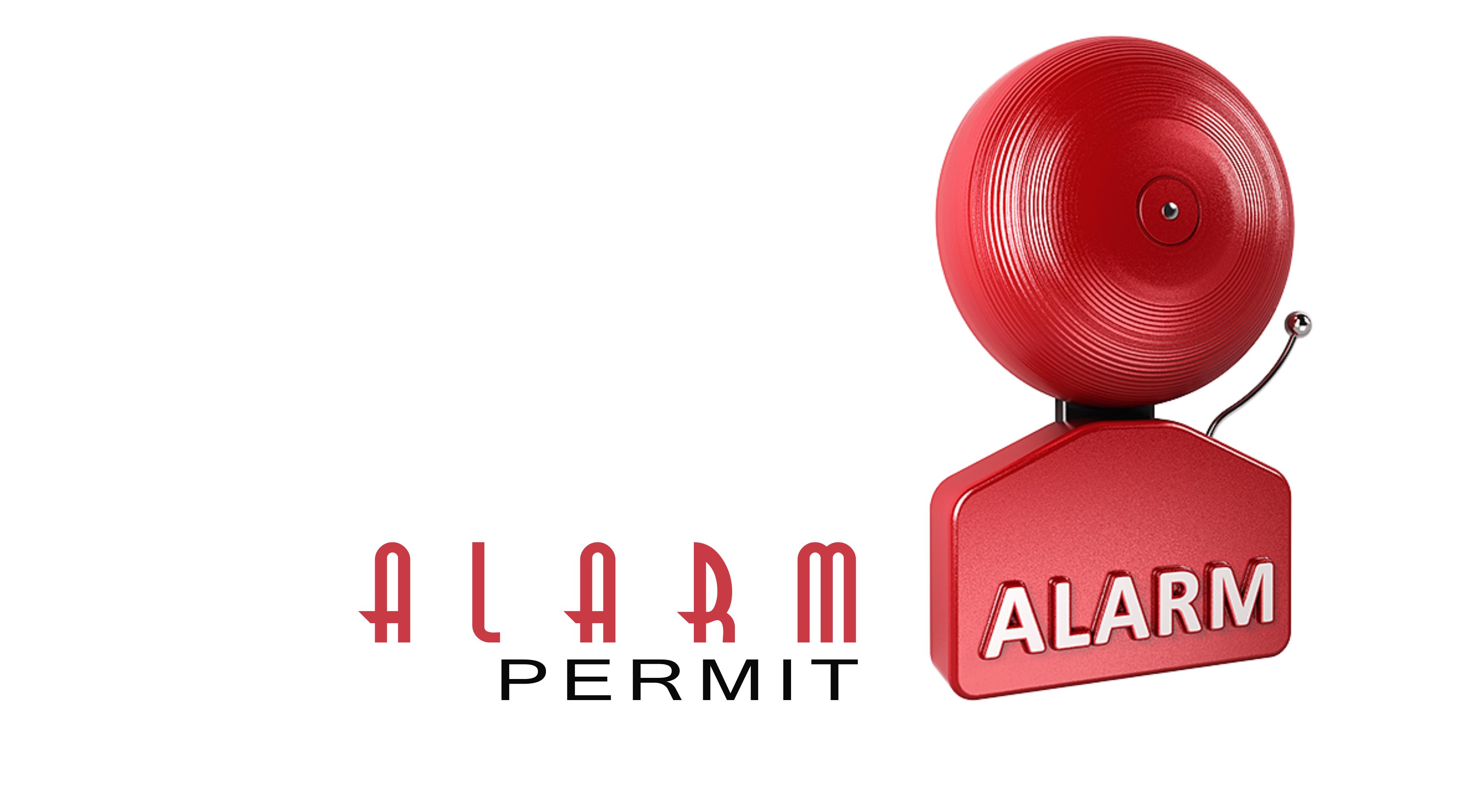 alarm permit online